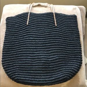 Merona Oversized Straw Bag